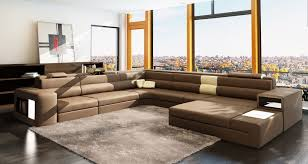 White Italian Leather Sectional Sofa Brown Italian Leather Sectional Sofa With Regard To Ideas 7