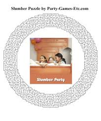 slumber party games free printable games and activities for a