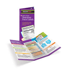 Nutrition Facts Label Worksheet Get To Know Nutrition Facts Labels Handouts