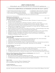 awesome administrative resume templates word personal leave