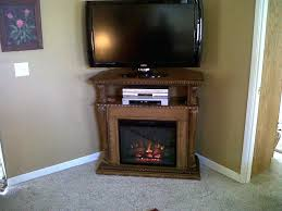 electric fireplace tv stand black heater with blower amazon empire