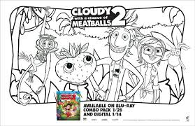 plan cloudy chance meatballs 2 party