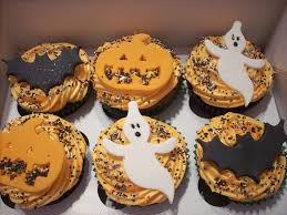 Halloween Baby Shower Cupcakes by 40 Terrifying Halloween Cupcakes