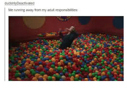 Adult Sex Memes - dudishly deactivated me running away from my adult responsibilities
