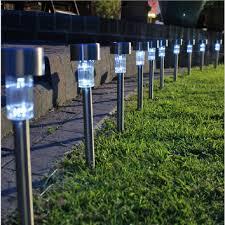 Solar Light Ideas by How To Use Led Garden Lights For Garden Decoration 37 Ideas Garden