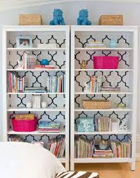Nursery Bookshelf Ideas Quatrefoil Nursery Trend