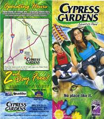 cypress gardens brochures and vacation guides