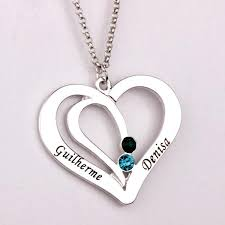 engraved necklaces for engraved couples necklace with birthstones morrison empire high