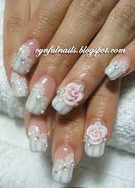 35 best 3d rose flowers nail art design ideas