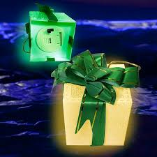 lighted gift box ornaments lighted ornaments tree