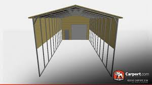 motorhome garages rv storage building 18 u0027 x 61 u0027 x 14 u0027 shop metal buildings online
