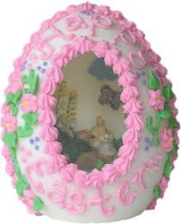 sugar easter eggs with inside sugar egg remember these you could peek inside to see an easter