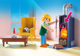 living room with fireplace 5308 playmobil usa