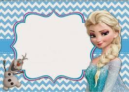 frozen invitations iidaemilia