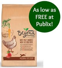 purina beyond natural cat food as low as free at publix ends 5 31