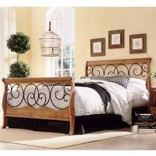 dunhill wood and iron bed iron king beds and king queen
