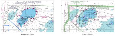 Ocean Depth Map Coast Survey Publishes New International Chart For Navigation