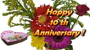 Happy Wedding Anniversary Cards Pictures Happy 10th Anniversary Cards Youtube
