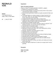 Purchasing Assistant Resume Fabric Assistant Resume Sample Velvet Jobs