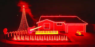 Christmas Lights House by The Force Is With This Incredible U0027star Wars U0027 Christmas Light Show