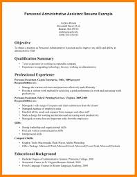 exles of administrative assistant resumes executive administrative assistant resume objective free sles
