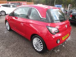 vauxhall adam used red vauxhall adam for sale torfaen