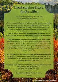 blessings of thanksgiving thanksgiving prayer for family prayer