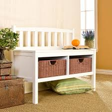 Storage Hallway Bench by Amazon Com Southern Enterprises Storage Entryway Bench With