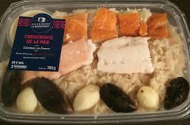 la cuisine de la mer choucroute de la mer la cuisine du poissonnier