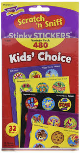 amazon com kids u0027 choice stinky stickers variety pack office products