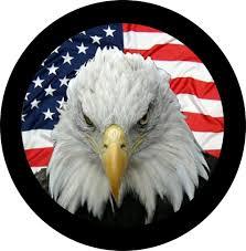 Eagles Flag Eagle Flag Tire Cover
