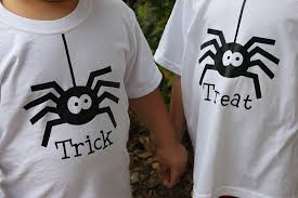 trick or treat halloween heat vinyl shirts two prince bakery theater