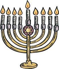 chanukkah candles hanukkah candles clipart