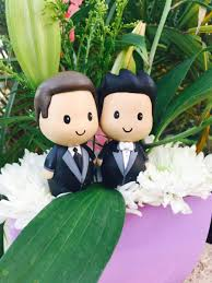 same wedding cake toppers two grooms