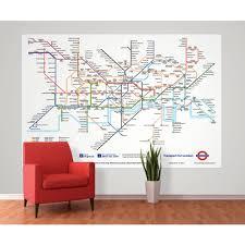 wall london underground subway map wallpaper mural 1 58m x 2 32m 1 wall london underground subway map wallpaper mural 1 58m x 2 32m