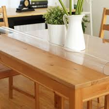 dining table cover clear high quality pvc waterproof oilproof simple square table cloth