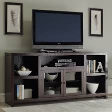 shop living room furniture at lowes com scott living dark cappuccino tv cabinet