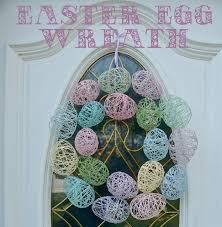 how to make an easter egg wreath easter egg wreath wine glue