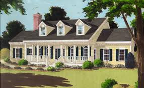 cape cod house plan with 3 bedrooms and 2 5 baths plan 7645