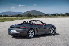 new porsche 2017 2017 porsche 718 boxster review gtspirit