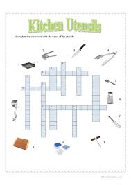 Kitchen Utensils Names by Kitchen Utensils Worksheet Free Esl Printable Worksheets Made By