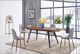 Casual Dining Room Furniture 93 Dining Table And 350 Chairs Modern Casual Dining Sets Dining