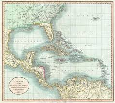 Detailed Map Of Florida by File 1803 Cary Map Of Florida Central America The Bahamas And