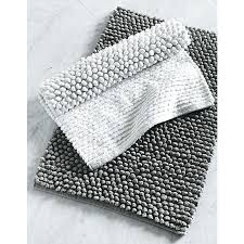 White Bathroom Rug Black Grey And White Bathroom Mats Textured Bath Mat Black White