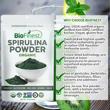 spirulina powder 100 pure freeze dried vitamins superfood