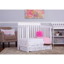 Mini Convertible Cribs On Me Aden Convertible 4 In 1 Mini Crib White Babies R Us