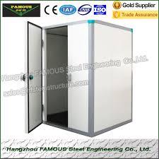 porte coulissante chambre froide type en acier porte coulissante de panneaux de plafond de panneaux