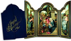 catholic christmas cards joyful blessings tri fold christmas cards catholic to the max