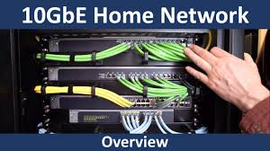 Home Network Closet Design 10gbe Home Network Youtube