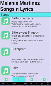 melanie martinez songs mp3 android apps on google play